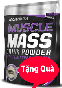 Muscle Mass Gainer 4,5kg